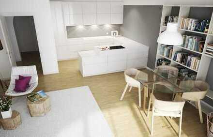 A. Zürker Immobilien - Helle Neubau-Wohnung mit Süd-Balkon