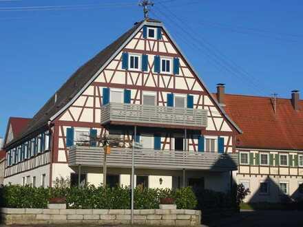 Fachwerkerlebnis - Große Maisonette-Wohnung mit Terrasse und Balkon