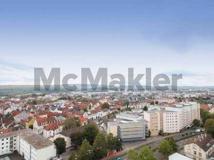Zentrumsnah in Kaiserslautern: 3-Zi.-ETW mit Loggia und TG-Stellplatz in attraktiver Lage