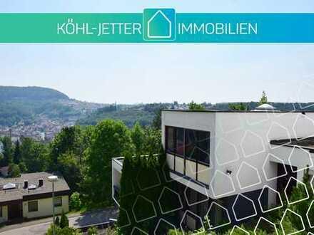 Traumhafte Terrassenwohnung mit wunderschönem Ausblick in Albstadt-Tailfingen!