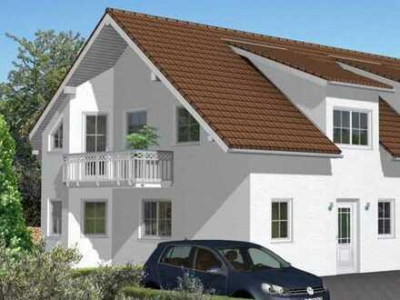 Moderner Neubau - Reihenendhaus mit Garten