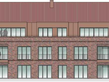 2-Zimmer-Neubau-Wohnung im Obergeschoss (zentrale Lage) zu vermieten!