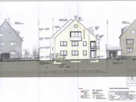 Baugrundstück in Top-Lage mit erteilter Baugenehmigung für 6 Familien Haus