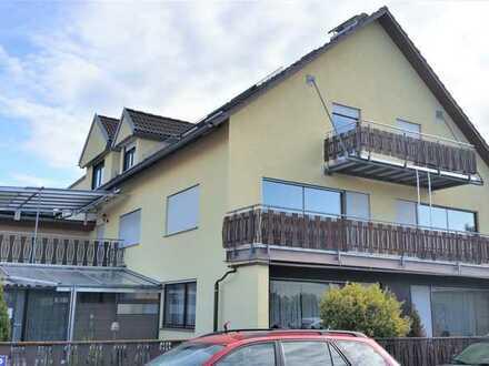 Helle ansprechende 4-Zimmer-Wohnung mit großzügiger Balkonfläche in Untermeitingen