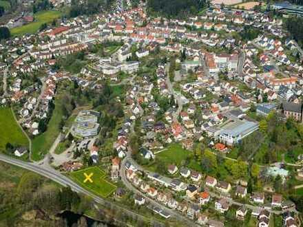 Sonnige Südhanglage - Grundstück mit unbebautem Blick auf Tal und Klosterweiher