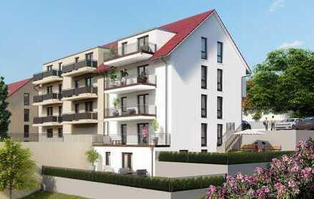 -:- Verkaufsstart -:- Hohe-Kreuz-Terrassen -:- Neubau 2-Zimmer-Gartengeschoss-Wohnung mit Terrasse