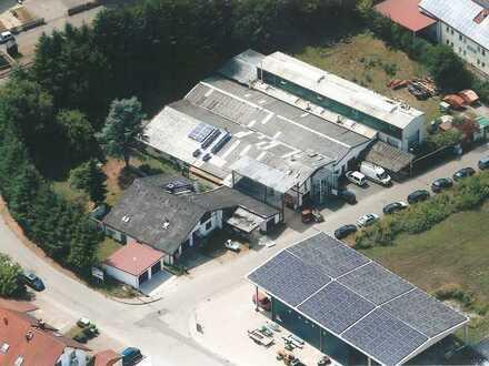Produktionshalle mit Büro und Sozialräumen ca. 1.000 m² - zu vermieten
