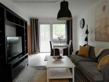 Hübsch möblierte 1-Raum-Wohnung sucht Neumieter