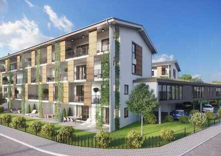 Zentrale 3 Zi. City Neubau Whg., 87,5 qm, 1.OG. Lift, grosser Balkon, hochwert. Ausst.,Bezug: 01.06.