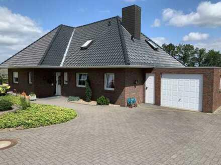 Vollständig renovierte 4-Zimmer-EG-Wohnung mit Terrasse in Steinfeld