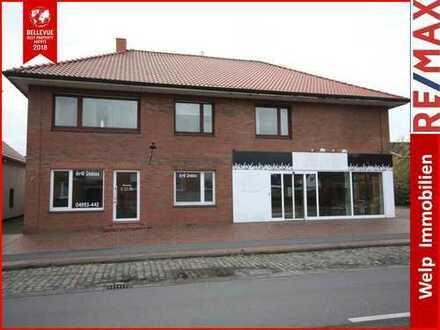 Wohn/ Geschäftshaus mit Ausbaureserve in zentraler Lage von Bunde