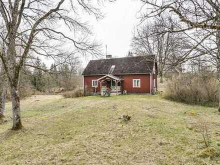 Geräumiges Haus mit einfachem Standard außerhalb von Älmhult