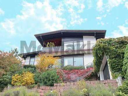 Traumhaus im Odenwald: ZFH mit Garten, Terrasse und unverbaubarem Blick ins Grüne
