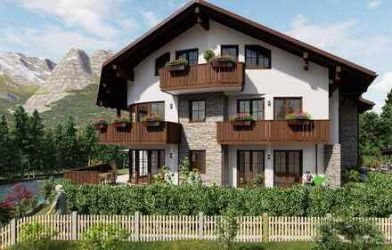 """Wohnen wo das Herz zu Haus ist! Landhaus """"Loisach-Winkel"""" Wohnung 8, Dachgeschoss"""