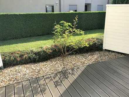gemütliche 3-Zimmer-Wohnung mit Terasse, TG und EBK in Nördlingen