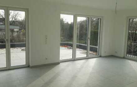 Erstbezug: Großzügige moderne 3,5-Zimmer-Wohnung mit Einbauküche und kleinem Garten in Limburg/Lahn
