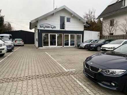 Autoverkaufsplatz zu vermieten
