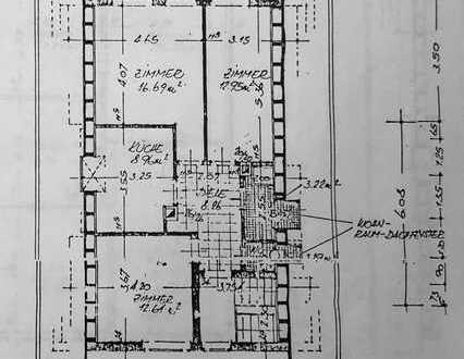 Toll geschnittene 3-Zimmer-Dachgeschoss-Wohnung in Ilvesheim