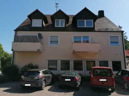 Gut geschnittene 2-Zimmer-Wohnung mit Balkon in Langerringen