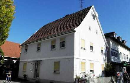 Großes Anwesen mit Potential! Zweifamilienhaus m. Scheune u. Doppelgarage mitten in Haßmersheim