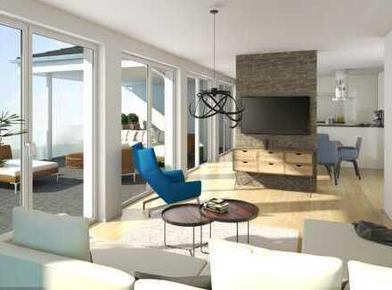 Penthousewohnung- mit grandiosem Ausblick in ruhiger und zentraler Lage von Reute