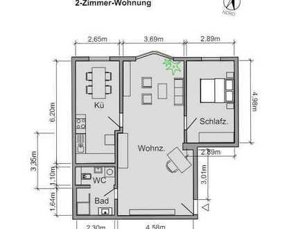Geräumige und vollständig renovierte 2-Zimmer-Wohnung mit EBK in Ostfildern-Nellingen