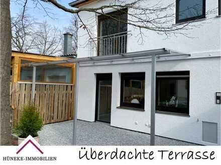 Tolles Reihenmittelhaus mit überdachter Terrasse und Freisitz im Garten