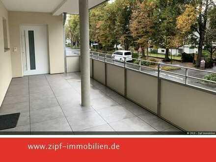 *NEUBAU ERSTBEZUG 3-ZKB mit Terrasse-zentrale Lage in GN-Hailer mit Tiefgarage und Fahrstuhl*