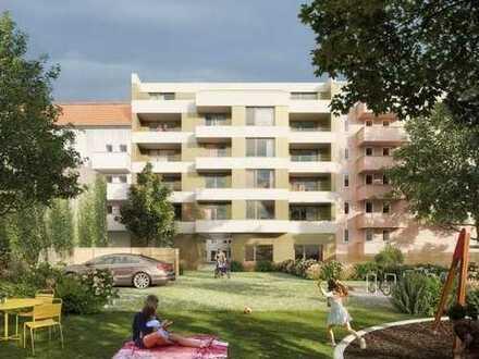 HAUS°54: Eigentumswohnung mit Hochebene, Terrasse & Garten