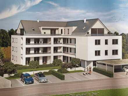 Exklusive, stadtnahe 2-Zimmer-Wohnung in Crailsheim. Erstbezug mit Einbauküche und Balkon