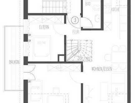 4-Zim. Maisonette-Wohnung | Balkon | Bad Cannstatt | Tageslichtbad | Neu Saniert