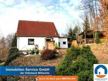 Wohnen am Wald - EFH für die kleine Familie mit idyllischem Grundstück