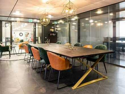 Flexible Serviced Offices mit Style // be smart. Workthere