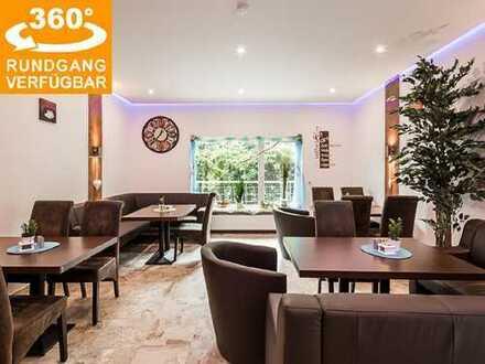 Provisionsfrei: modernisierte Hotelpension mit Café, Wellnessbereich u. 5-Zi.-Whg. in Vielbrunn