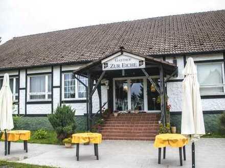 Gut laufende Gaststätte und Pension zu verkaufen!