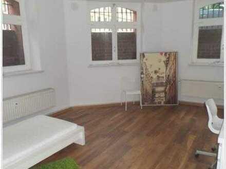 Möbliertes 20qm Zimmer in 4er WG, zentrumsnahe, tiefparterre