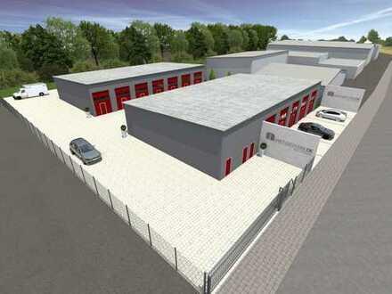 NEUE Lagerflächen/Garagen von ca. 60 qm bis ca. 180 qm