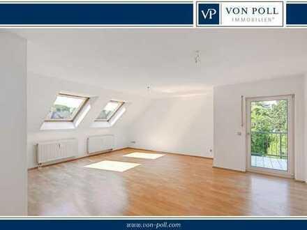 Gemütliche Dachgeschosswohnung in bester Lage mit EBK