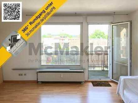 Zögern Sie nicht! Attraktive Dachgeschosswohnung mit Balkon und malerischem Ausblick!