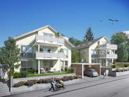 4,5 Zimmer OG Neubauwohnung in kleiner Wohneinheit