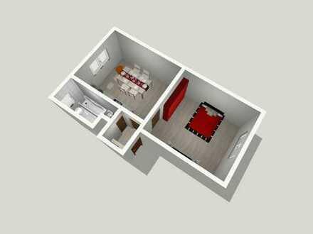 Helle Wohnung mit Fensterbad