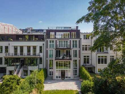 Luxuriöse Maisonette-Wohnung - Mitten in Winterhude.