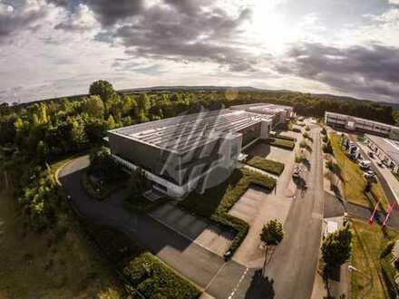SOFORT VERFÜGBAR ✓ RAMPE + EBEN ✓ Lager (1.000 m²), Service (300 m²) & Büro (300 m²) zu vermieten