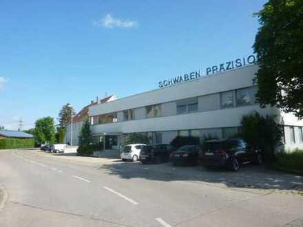 Gewerbeimmobilie mit Verwaltungs-, Produktions- und Lagerhallen