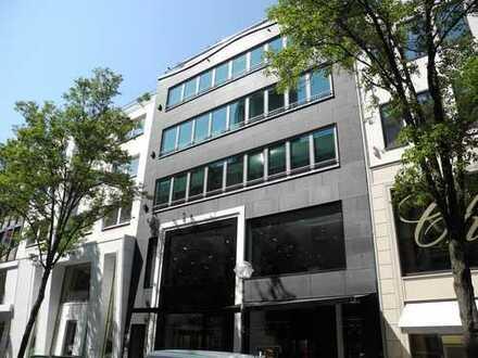 Frankfurt - Goethestraße - Hochwertige Büroflächen, Parkett, Klimaanlage, Küche