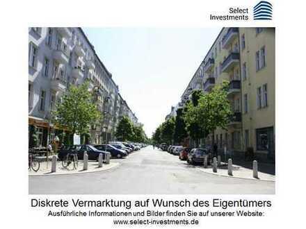 Renovierungsbedürftige EG-Wohnung im Szenekiez. Wohnen oder Praxis!