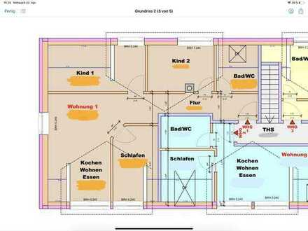 Schöne 4-Zimmer DG Wohnung Kurparknähe in Bad Rappenau