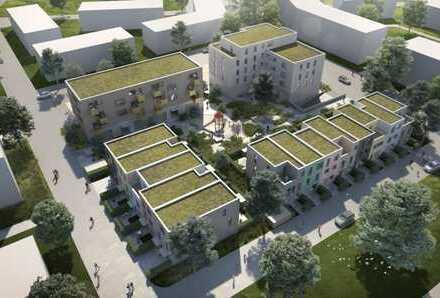 Neue Räume im neuen Stadtteil Am Sonnenrain / Gewerbeflächen im Wohn- und Geschäftshaus