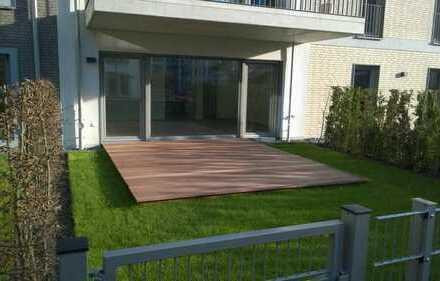Neuwertige 3-Zimmer-Gartenwohnung mit Einbauküche - Parkett - Fußbodenheizung - TG Stellplatz