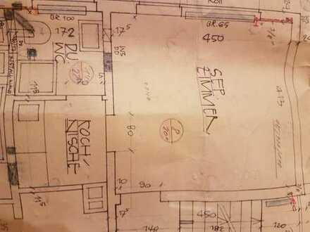 Erstbezug nach Sanierung mit EBK und Terasse: exklusive 1-Zimmer-Wohnung in Ostfildern